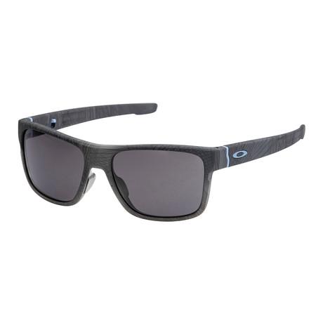 Men's Crossrange Sunglasses // Aero Grid + Warm Gray