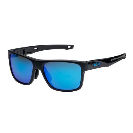 Men's Crossrange Sunglasses // Black Prizm + Sapphire