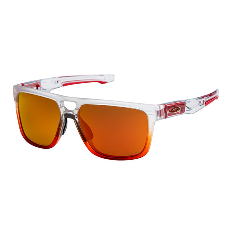 Men's Crossrange Patch Sunglasses // Ruby Mist + Ruby