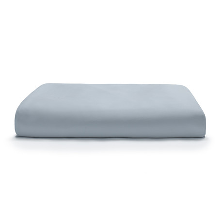 Miracle Fitted Sheet // Extra Luxe Sateen // Sky Blue (Twin)