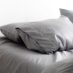 2PK Miracle Pillowcases // Extra Luxe Sateen // Stone (Standard)