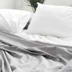 2PK Miracle Pillowcases // Extra Luxe Sateen // White (Standard)