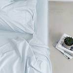 Miracle Sheet Set // Extra Luxe Sateen // Sky Blue (Twin)