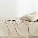 Miracle Sheet Set // Extra Luxe Sateen // Sand (Twin)