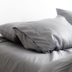 Miracle Sheet Set // Extra Luxe Sateen // Stone (Twin)