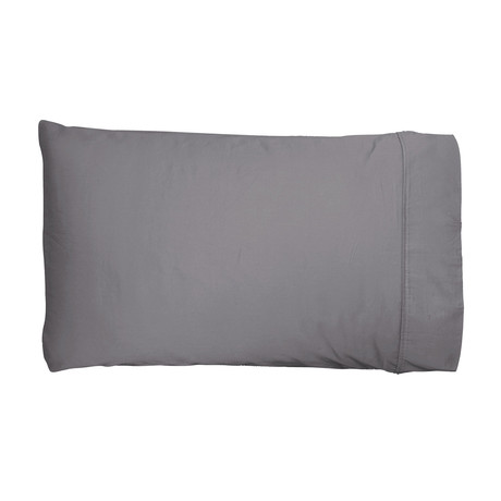 2PK Miracle Pillowcases // Extra Luxe Sateen // King Size // Stone