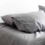 Miracle Fitted Sheet // Extra Luxe Sateen // Stone (Twin)