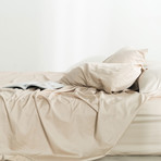Miracle Fitted Sheet // Extra Luxe Sateen // Sand (Twin)