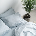 2PK Miracle Pillowcases // Extra Luxe Sateen // Sky Blue (Standard)