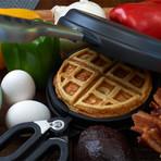 The Wonderffle Stuffed Waffle Iron
