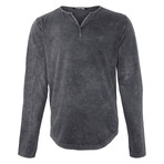 Caleb Long-Sleeve // Anthracite (S)