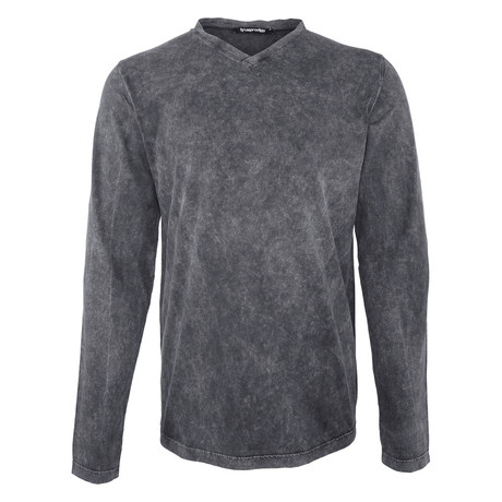 Leroy Long-Sleeve Shirt // Anthracite (S)