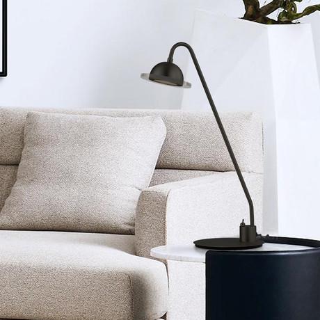 Laurel // Accent Table Lamp (Matte Black)