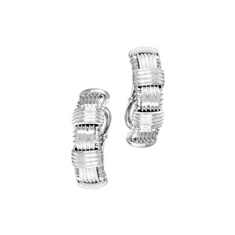 Roberto Coin 18k White Gold Earrings