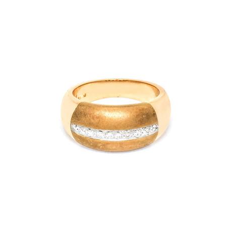 Roberto Coin 18k Two-Tone Gold Diamond Ring