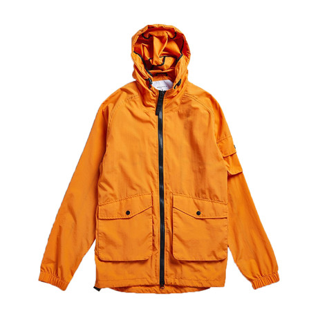 Voyage Hooded Kagoule Jacket // Orange (XS)