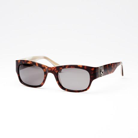 Unisex Route 66 Sunglasses // Havana Cream