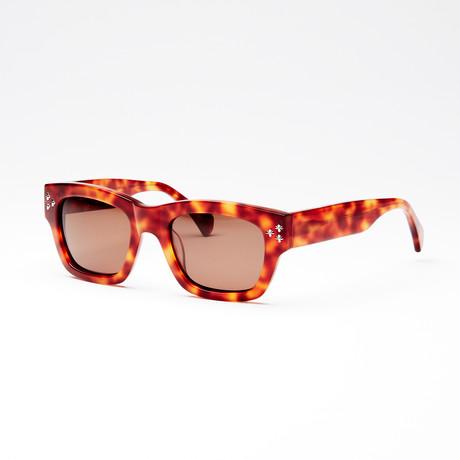 Unisex Slick Sunglasses // Demi Amber