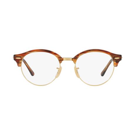 Men's Clubround Optical Frames // Brown
