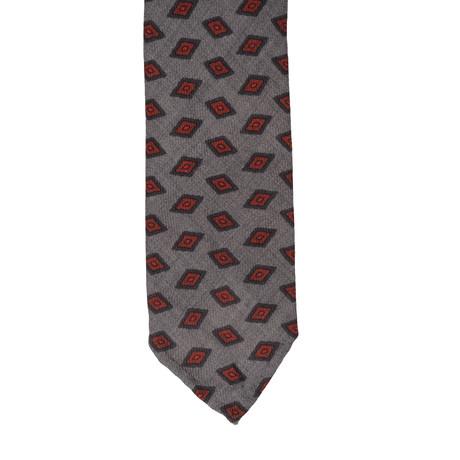Cesare Attolini // Geometric Tie I // Multicolor