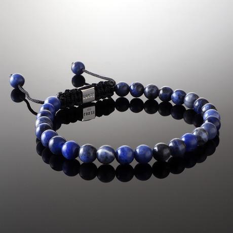 Minimal Sodalite Bracelet (S)