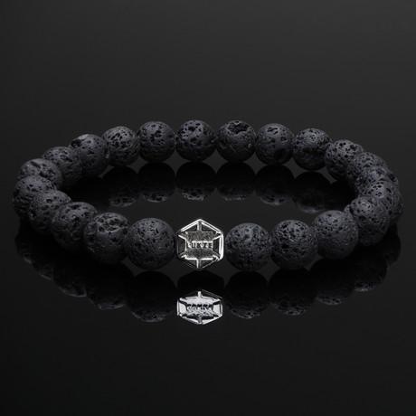 Signature Lava + Silver Bracelet