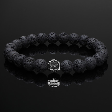 Signature Lava + Black Gold Bracelet