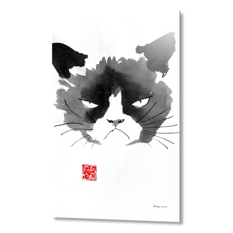 Grumpy Cat // Aluminum Print