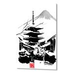 Temple // Aluminum Print
