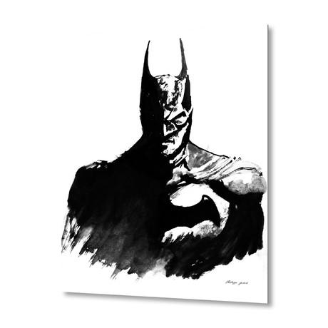 """Batman // Aluminum Print (16""""W x 20""""H x 1.5""""D)"""