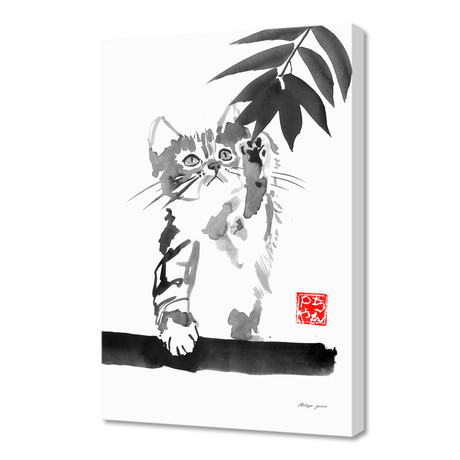 Catching Cat 02 // Canvas