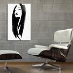 "Chinese Face // Aluminum Print (16""W x 20""H x 1.5""D)"