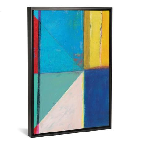 "Colorful Geometrics II // Jodi Fuchs (18""W x 26""H x 0.75""D)"