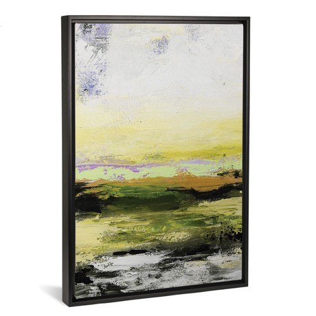 "Abstract Landscape XIV // Radiana Christova (18""W x 26""H x 0.75""D)"