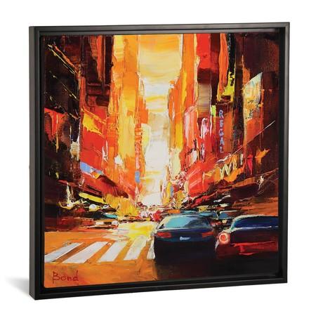 """The Beautiful Sunset // Tatyana Yabloed (18""""W x 18""""H x 0.75""""D)"""