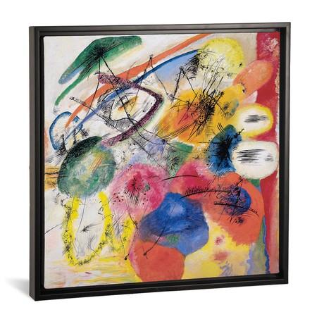 "Black Lines // Wassily Kandinsky (18""W x 18""H x 0.75""D)"