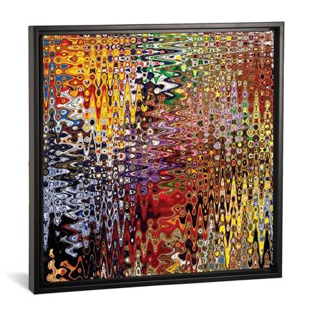 """Asian Tassels I // Susan Vizvary (18""""W x 18""""H x 0.75""""D)"""