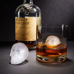 3D Skull Ice Tray // Set of 2
