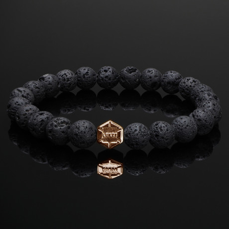 Signature Lava + Rose Gold Bracelet