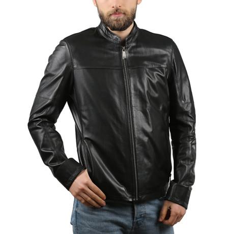 Leather Jacket II // Black (XS)