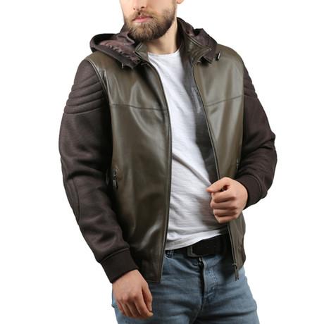 Antik Leather Jacket // Brown (XS)