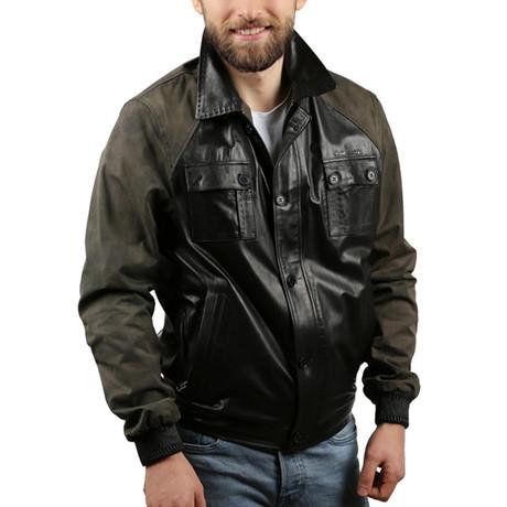 Guavera Leather Jacket // Black (XS)