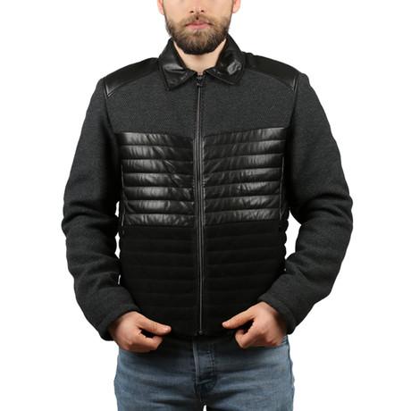 Venedik Leather Jacket // Black (XS)