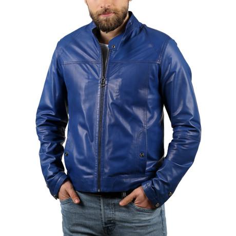 Guavera Leather Jacket // Sax (XS)