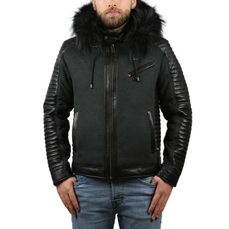 Leather Jacket III // Black (XS)