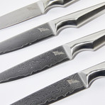 "Shiroi Hana Steak Knife Set // 5""L"