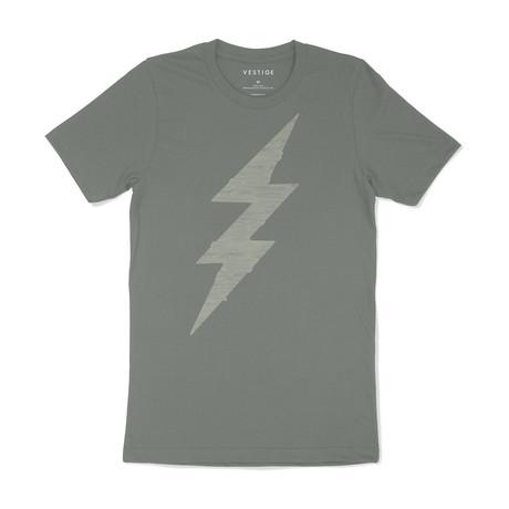 Bolt Graphic T-Shirt // Light Green (S)
