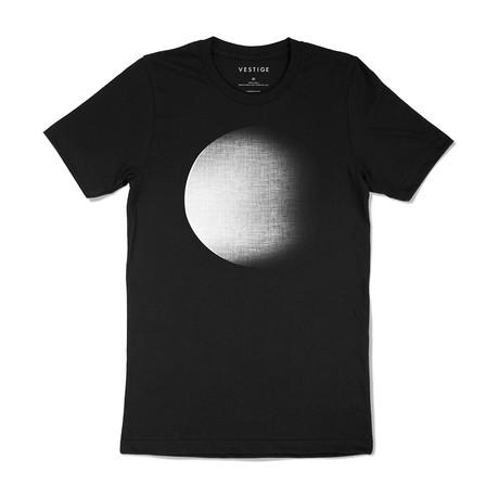 Dark Moon Rising Graphic T-Shirt // Black (S)