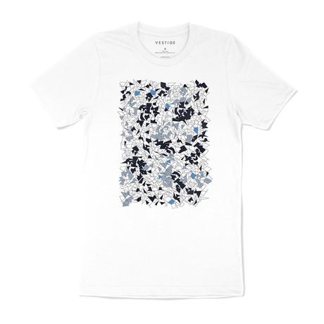 Origami Graphic T-Shirt // White (S)
