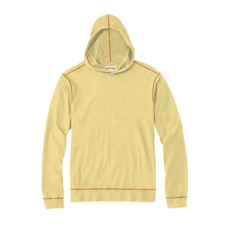 Lightweight Pique Hoodie // Yellow (S)